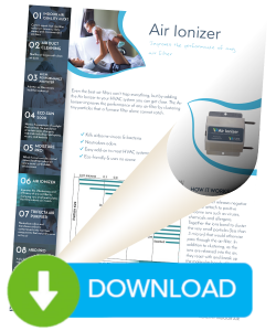 Download for more information on the Air Ionizer by Pure Indoor Air