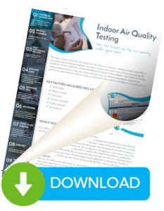 Download for more information on Indoor Air Quality testing by Pure Indoor Air